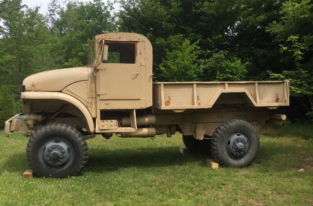 Big Honking Truck 1953 Gmc Military