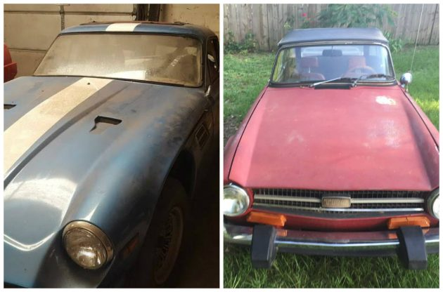 Make Your Choice, Please: $4k 1974 TVR Or TR6?