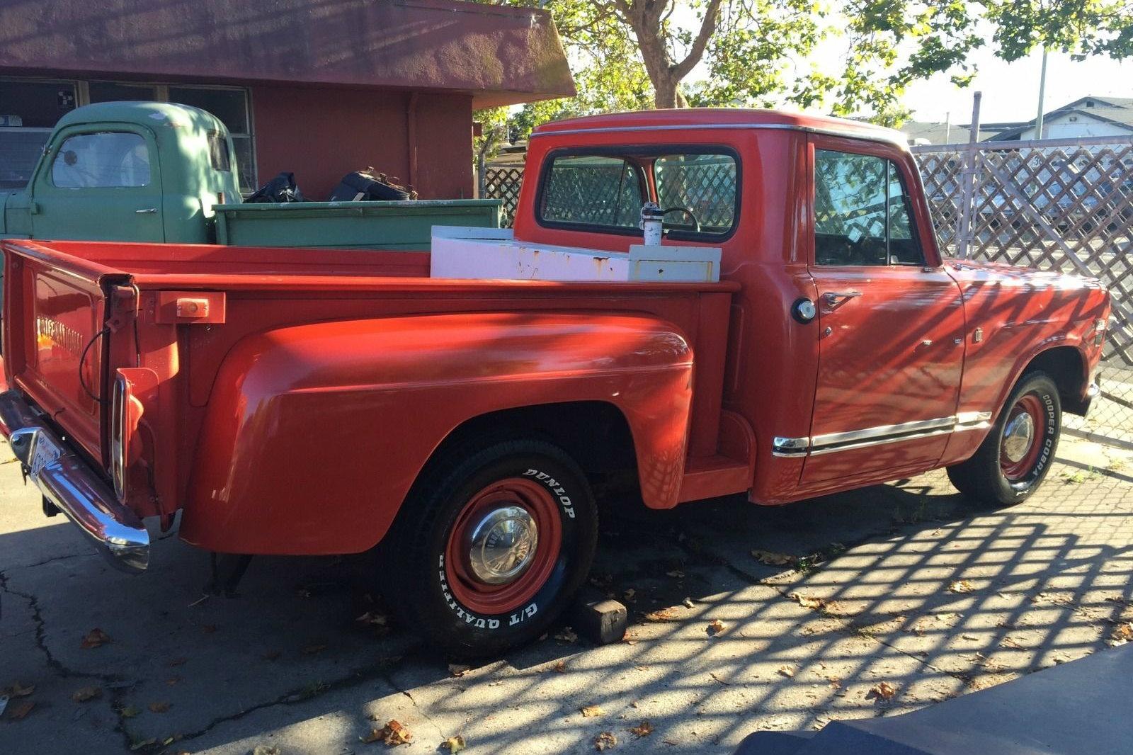 1973 international honest truck