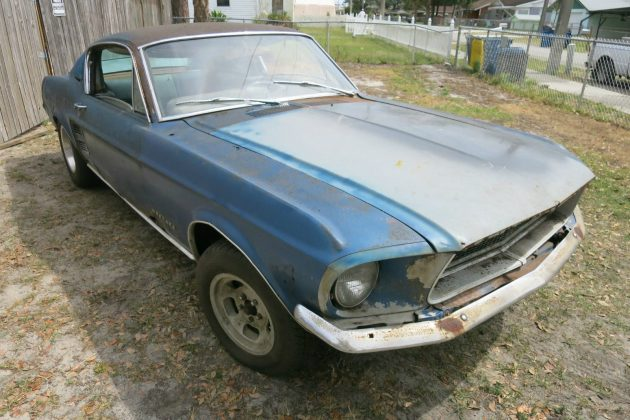 Needs Everything! 1967 Mustang Fastback