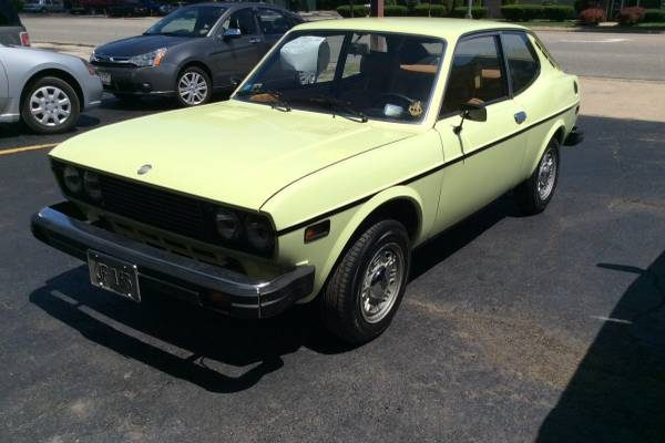 low mileage tiny italian 1975 fiat 128 coupe. Black Bedroom Furniture Sets. Home Design Ideas