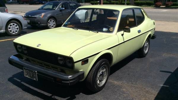 Low Mileage Tiny Italian: 1975 Fiat 128 Coupe