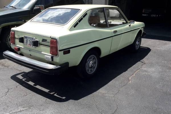 Fiat 850 Spider >> Low Mileage Tiny Italian: 1975 Fiat 128 Coupe