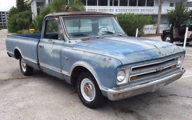 1967 Chevrolet C-10 At $1,000 No Reserve