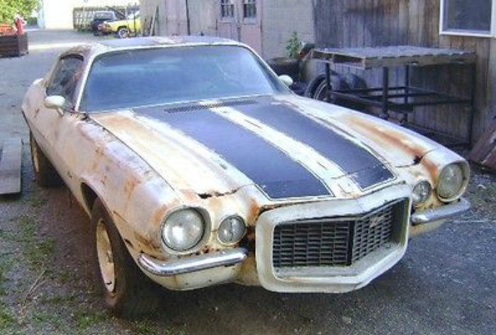 Camaro Z Project Car For Sale