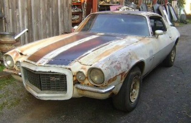 Behind The Barn Find! 1970 Camaro Z28 RS