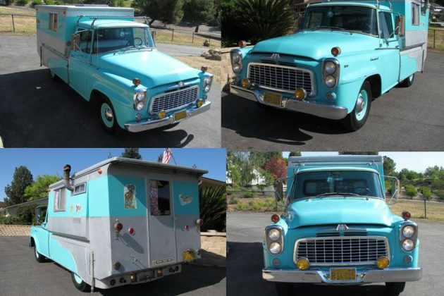 Cool One-Off! 1960 International Camper Conversion
