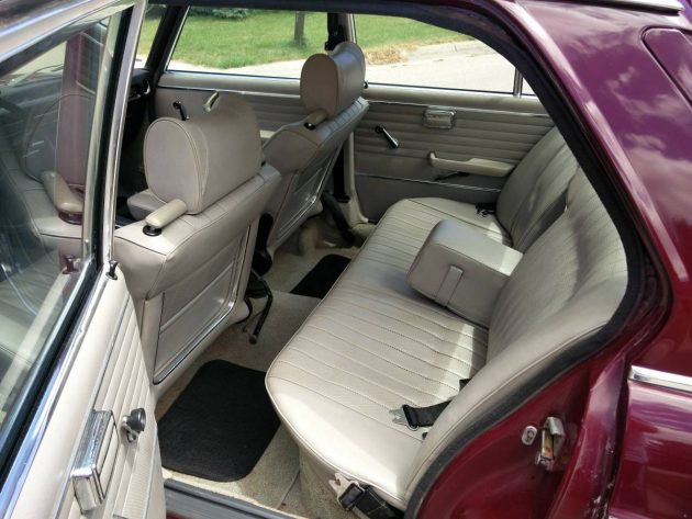 inside rear