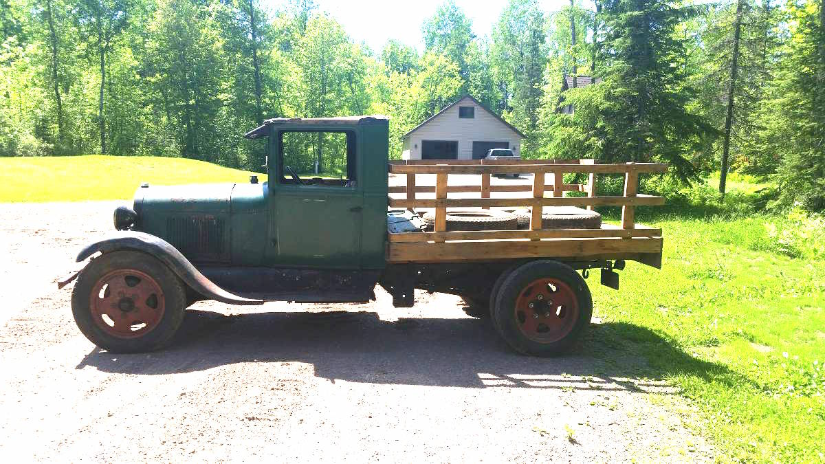Super cheap 1929 ford aa truck for Craigslist duluth farm and garden