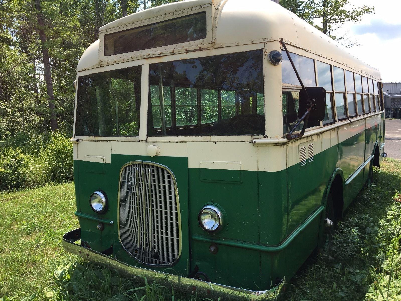Crackerbox: 1939 Ford School Bus