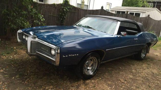 Non Stop: 1969 Pontiac LeMans Convertible
