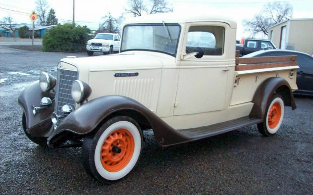 Ready To Work: 1936 International Pickup