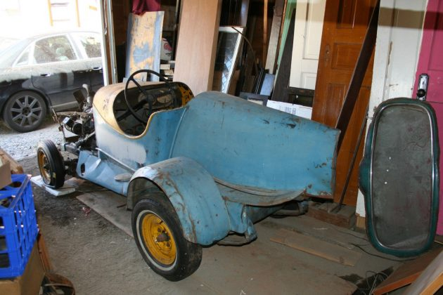 Soap Box Support: 1934 Plymouth Speedster