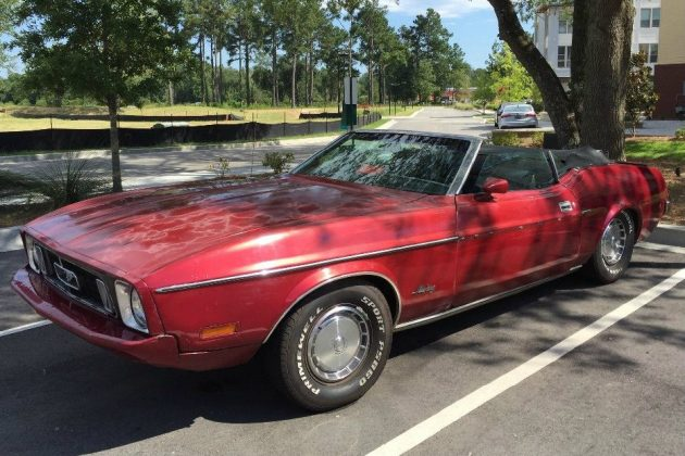 This One's A Convertible: 1973 Ford Mustang