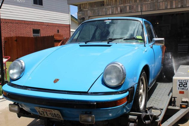 Just Add Drivetrain: 1974 Porsche 911S