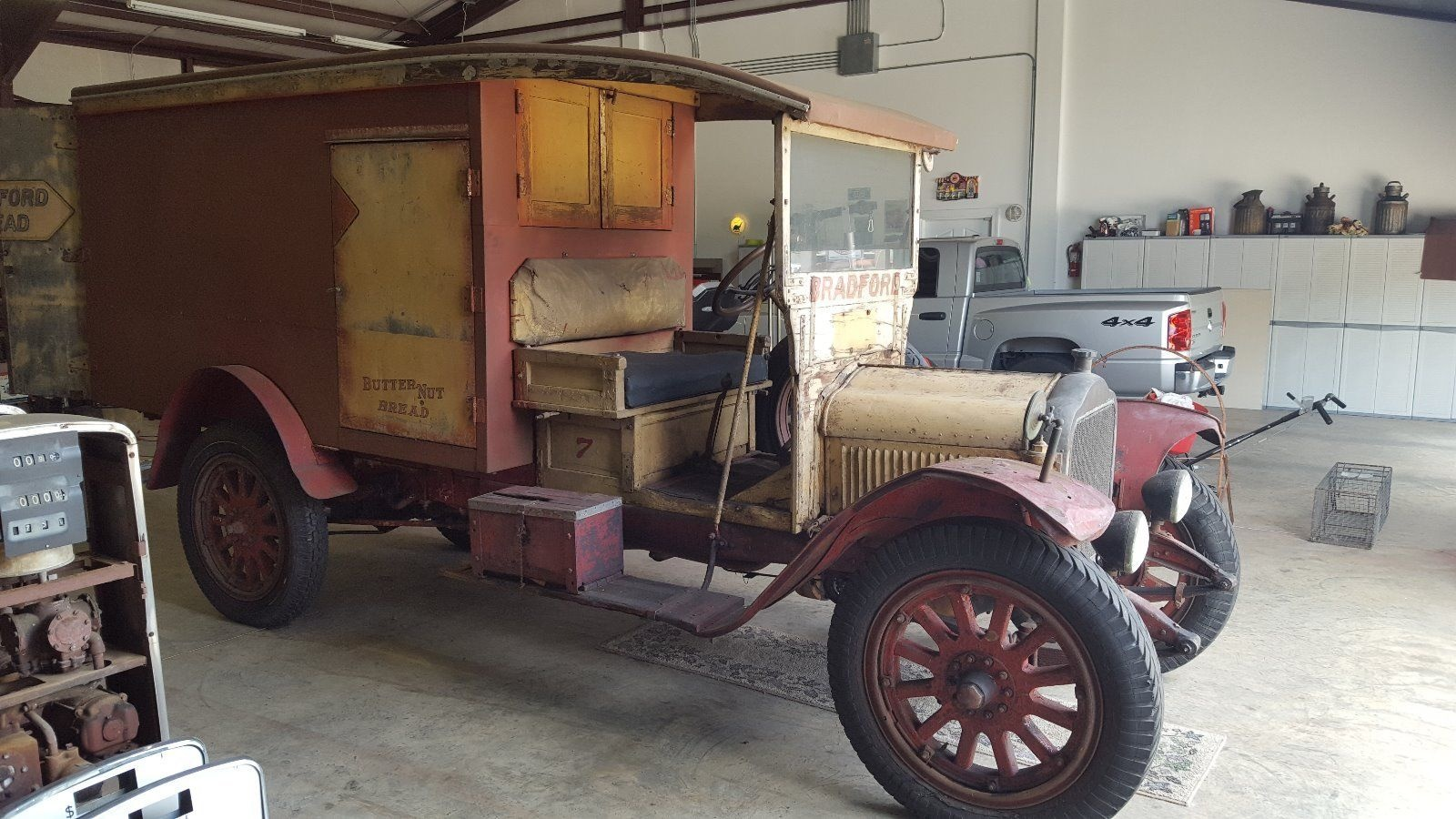 Looks Cool 1920 White Bread Truck
