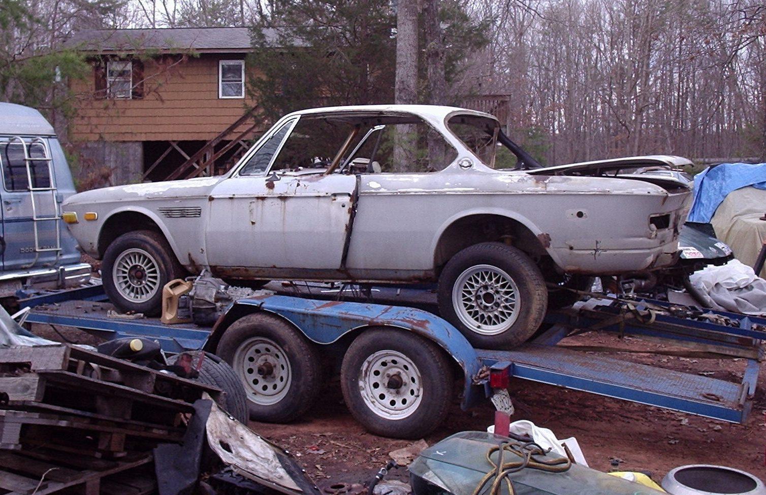 never wrecked rusty bmw 3 0csi