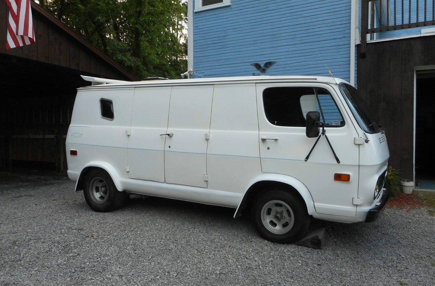 Memories Included 1969 Chevrolet G20 Van