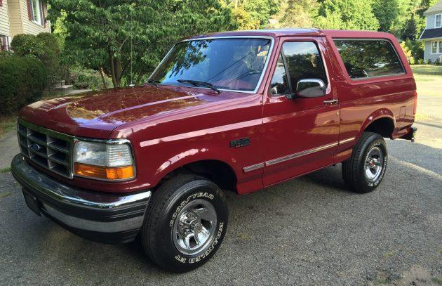 Impressive Survivor: 1993 Ford Bronco XLT