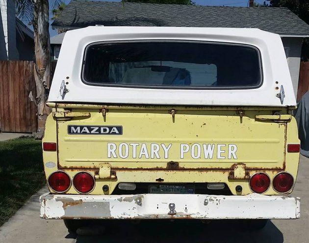 Pocket Rocket Pickup: 1974 Mazda REPU