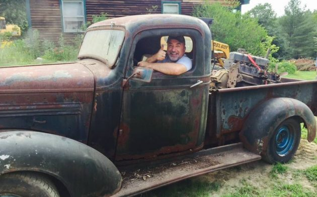 Straight Outta The Barn: 1938 Chevrolet Pickup