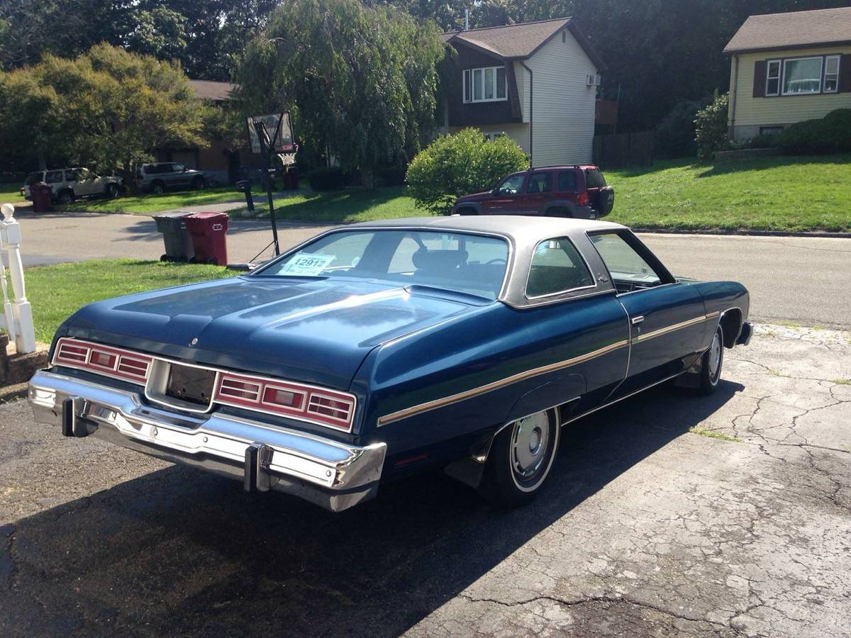 last of the big ones 1976 chevy impala. Black Bedroom Furniture Sets. Home Design Ideas