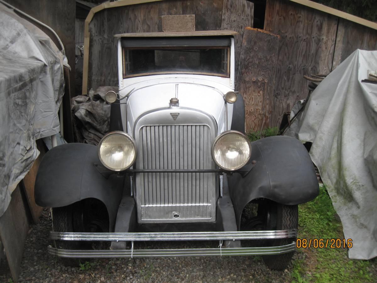 Used Car Auctions >> Magnificent Six: 1928 Hudson Super Six Sedan