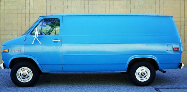 Survivor Workhorse: 1978 Chevy C10 Van