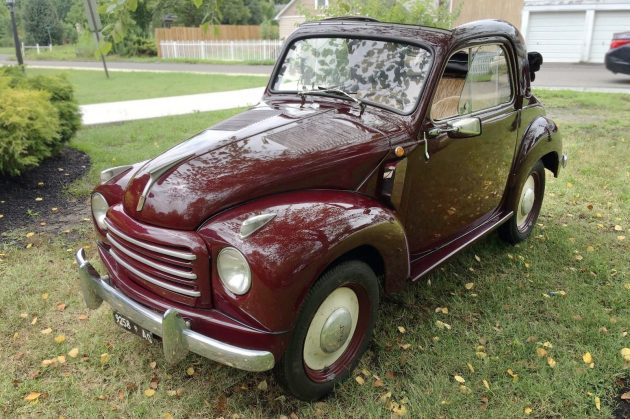 The Mouse That Roared: 1951 Fiat 500C Topolino