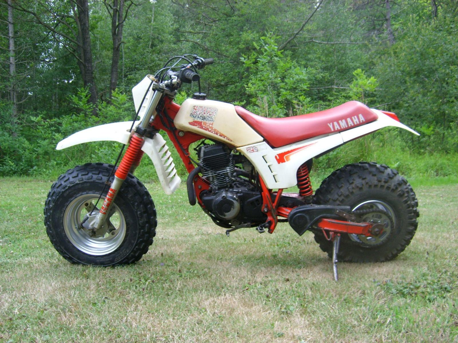 Big Wheels Rollin 1986 Yamaha Bw200es
