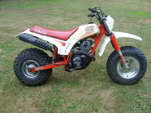 080116 Barn Finds - 1986 Yamaha BW200 - 4