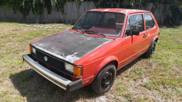 080416 Barn Finds - 1981 Volkswagen Rabbit - 1
