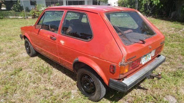 080416 Barn Finds - 1981 Volkswagen Rabbit - 2