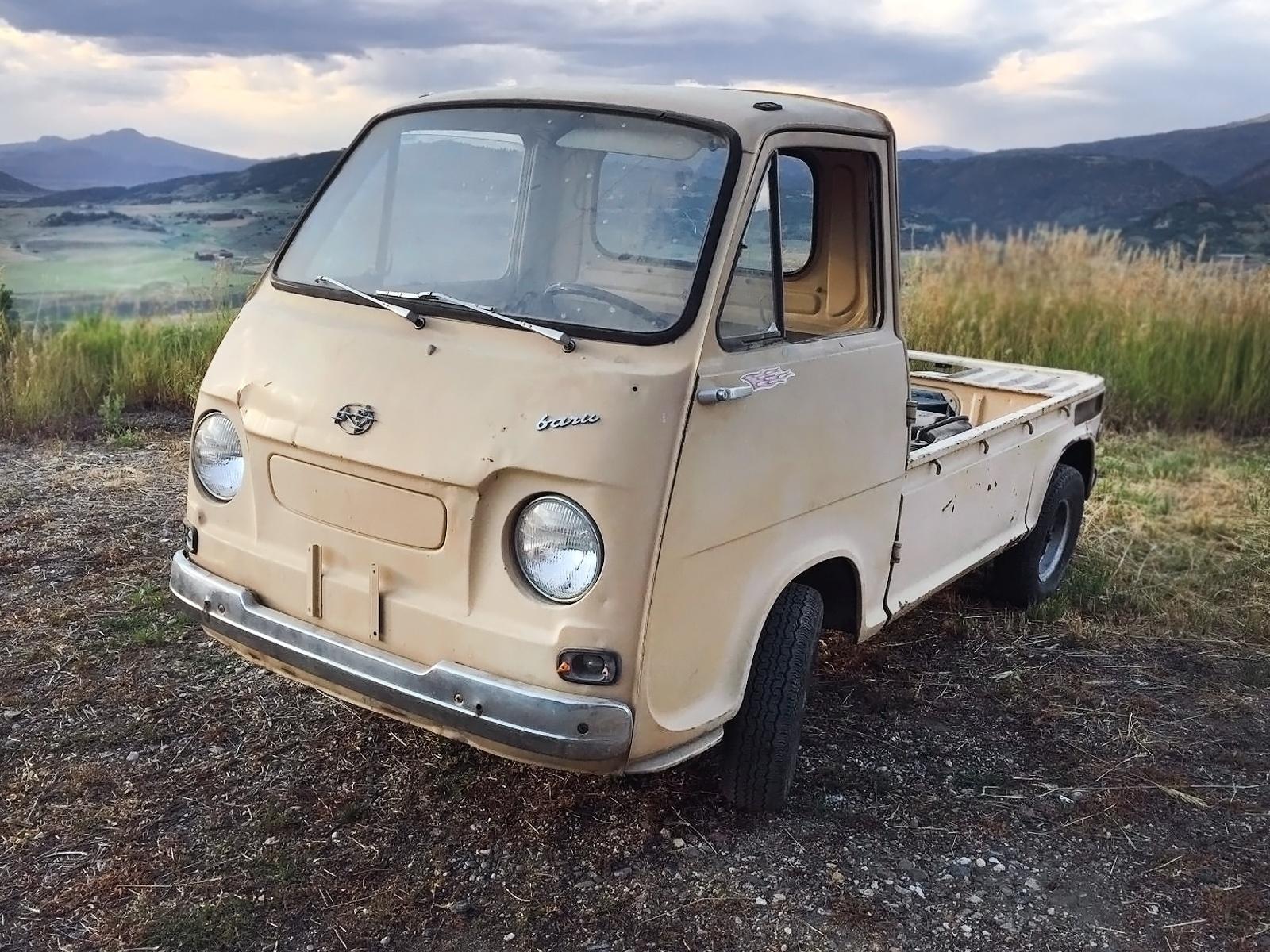 Subaru Colorado Springs >> Rare Truck: 1969 Subaru 360 Sambar Pickup