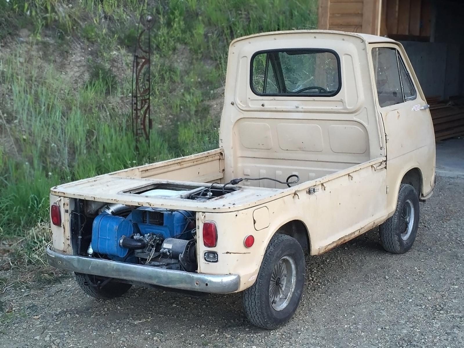 Rare Truck 1969 Subaru 360 Sambar Pickup