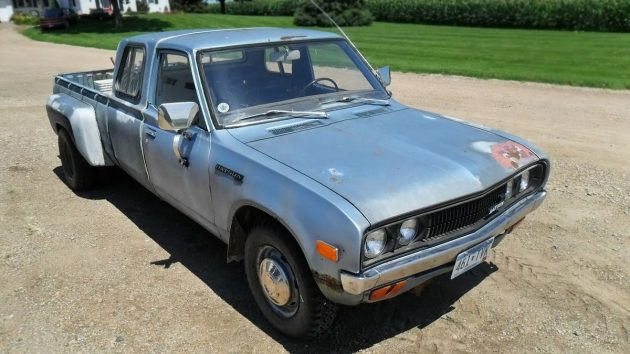$2,500! 1979 Datsun 620 Extended-Cab Dually Pickup