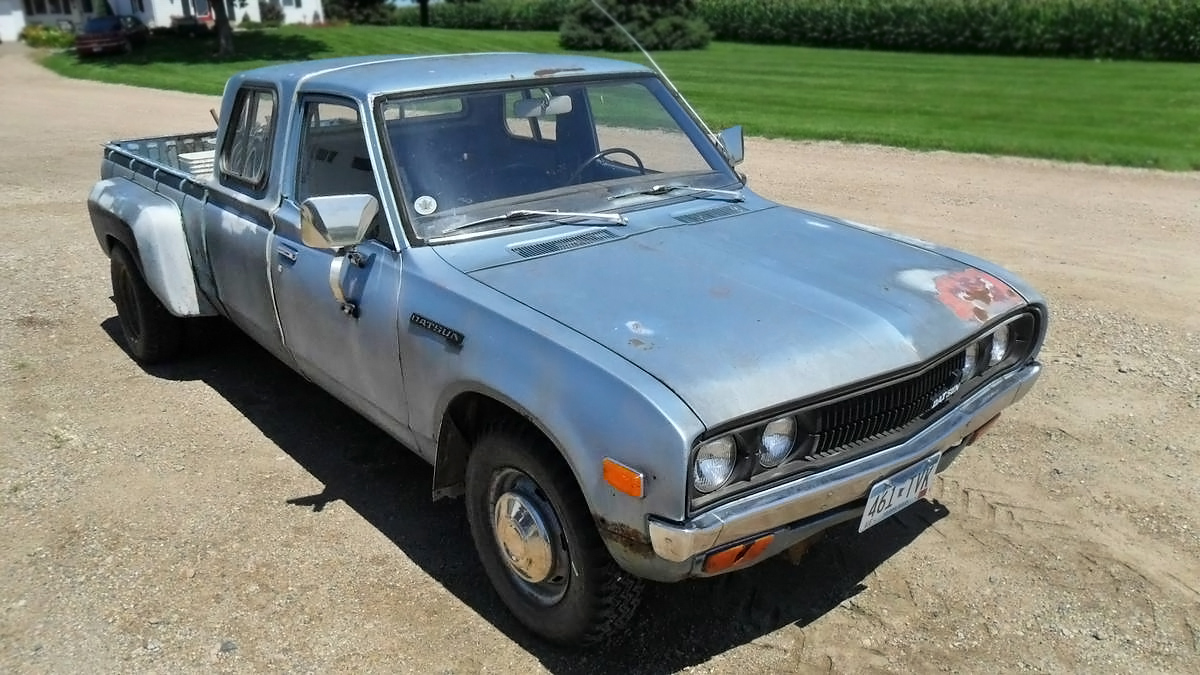 1979 Datsun 620 Extended Cab Dually Pickup