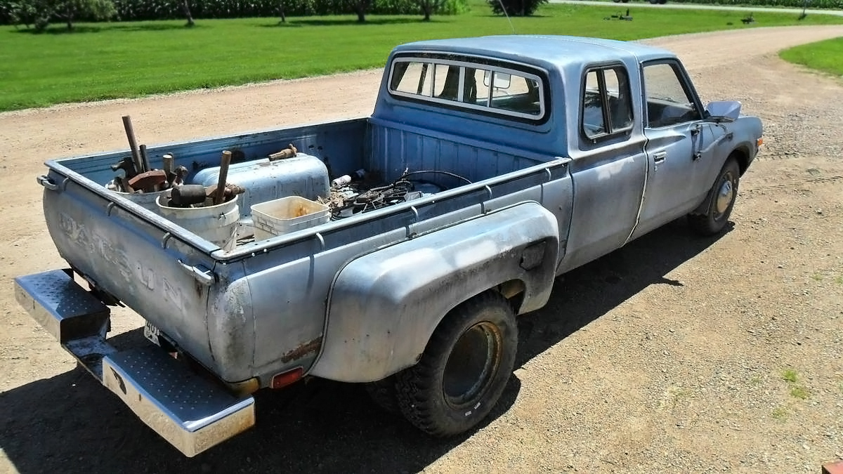 2 500 1979 Datsun 620 Extended Cab Dually Pickup