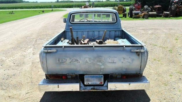 080816 Barn Finds - 1979 Datsun 620 Pickup- 4