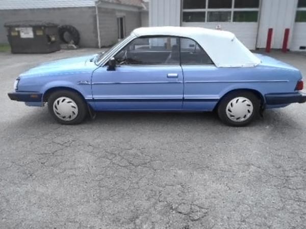 Rare Ragtop: 1983 Subaru GL Convertible