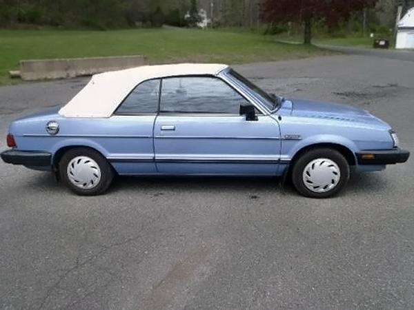 080916 Barn Finds - 1983 Subaru GL Convertible- 2