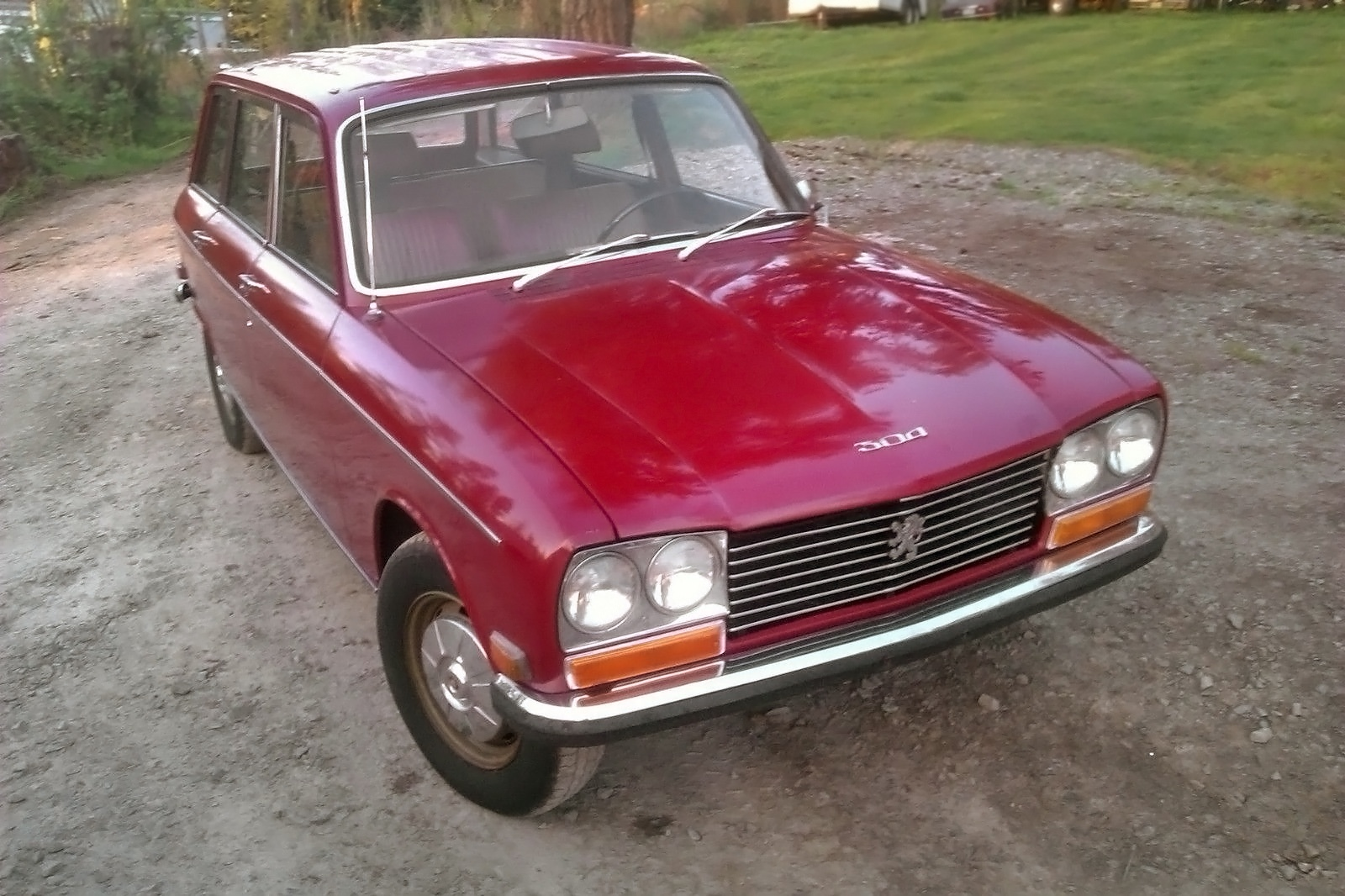 Little Red Wagon 1971 Peugeot 304 Wagon