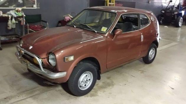 081016 Barn Finds - 1972 Honda Z600 Coupe - 1