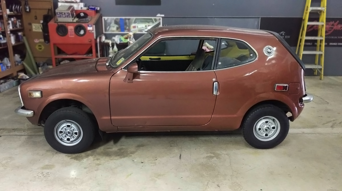 $4,500 Brown Shoe: 1972 Honda AZ600 Coupe