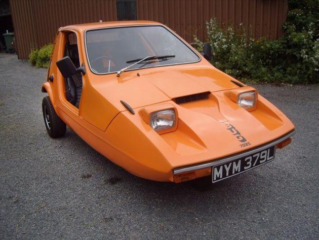 Orange Peeler: 1973 Bond Bug