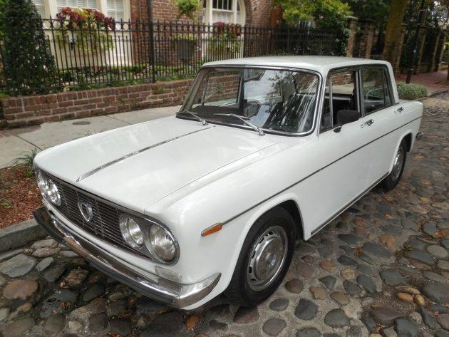 081116 Barn Finds - 1971 Lancia Fulvia Berlina - 1