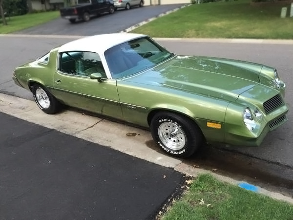 Luxury Liner 1979 Chevrolet Camaro Berlinetta