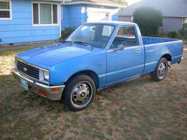 2 950 diesel 1982 chevrolet luv diesel pickup. Black Bedroom Furniture Sets. Home Design Ideas