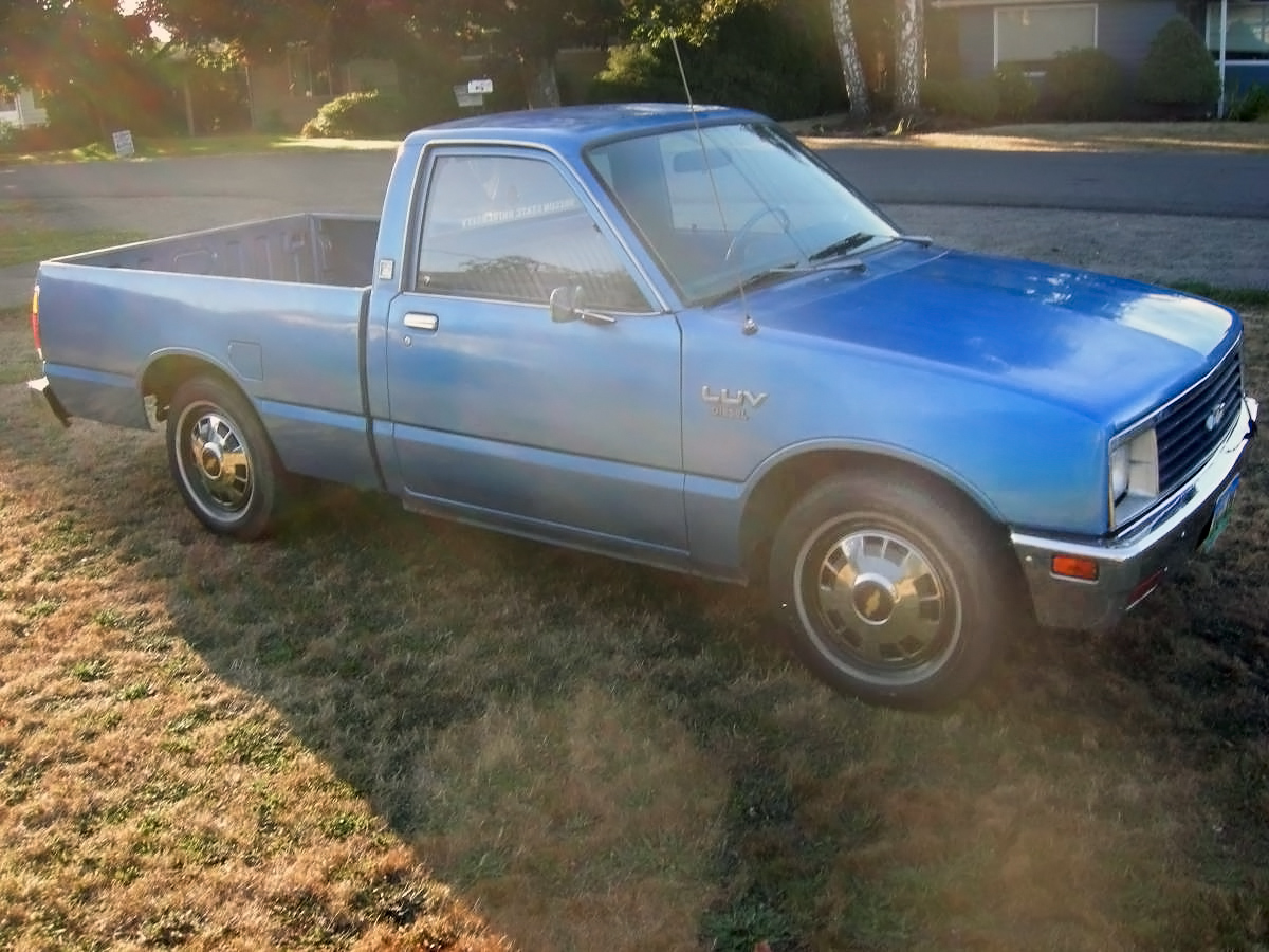 Great 081516 Barn Finds   1982 Chevrolet Luv Diesel   3