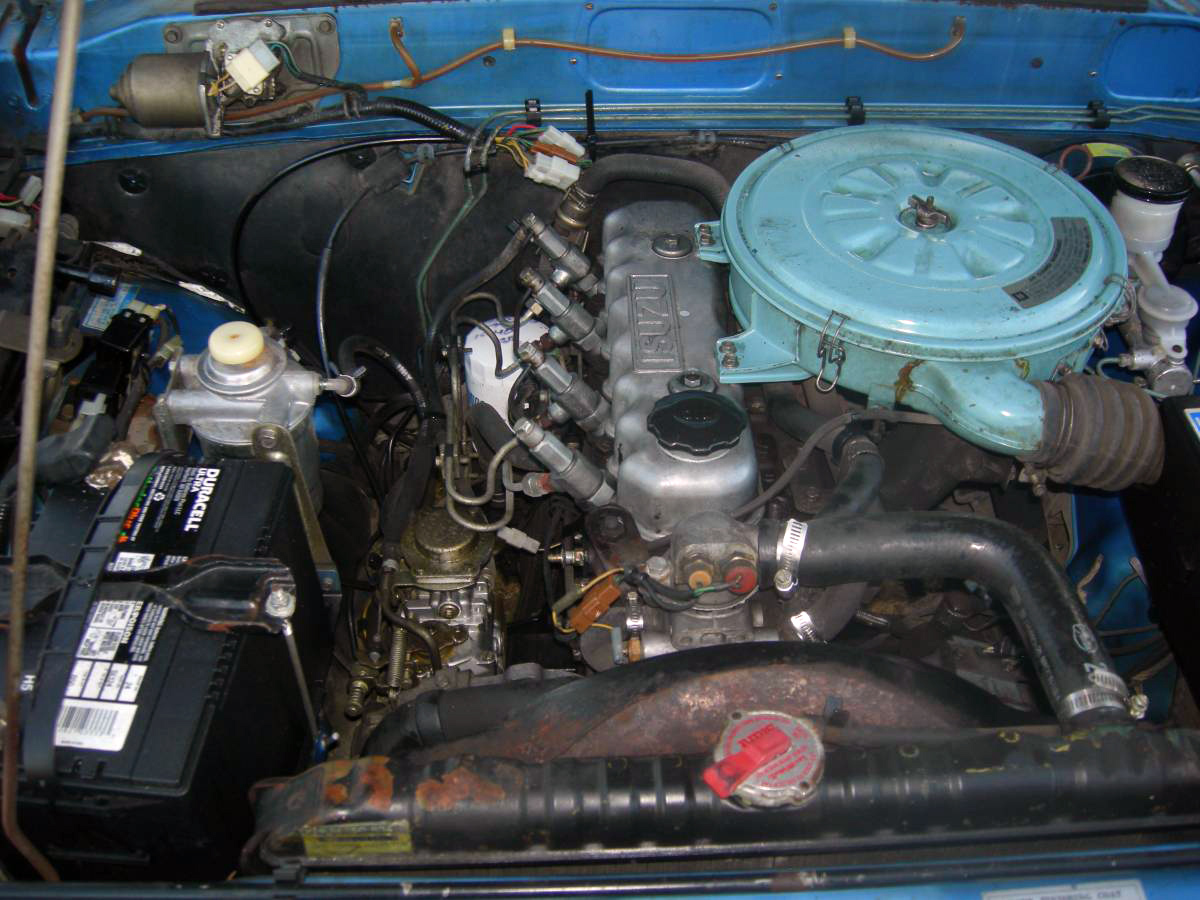 2950 Diesel 1982 Chevrolet Luv Diesel Pickup on chevy truck wiring diagram